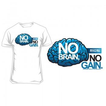 Scitec T-Shirt No Brain