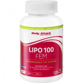 Body Attack Lipo Fem 120...
