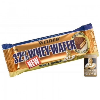 Weider 32% Whey Wafer 24x...