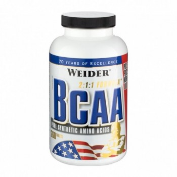 Weider BCAA Tablets 260 St.