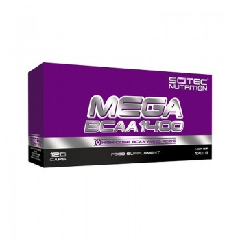 Scitec Mega BCAA 1400, 120...