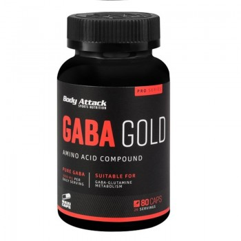 Body Attack Gaba Gold 80...