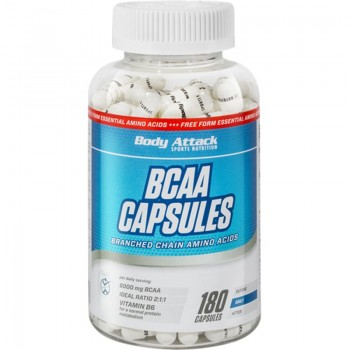 Body Attack BCAA Capsules...