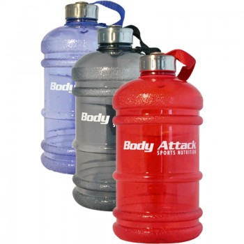 Body Attack Water Bottle -...
