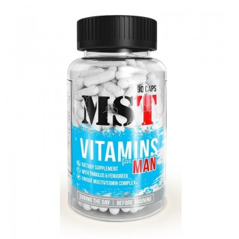 MST - Vitamins for MAN 90 caps