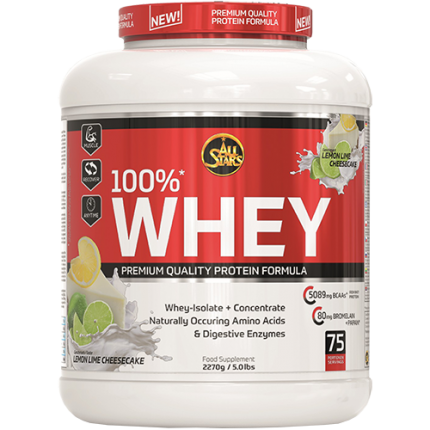 All Stars - 100% Whey Protein, 2270g Dose