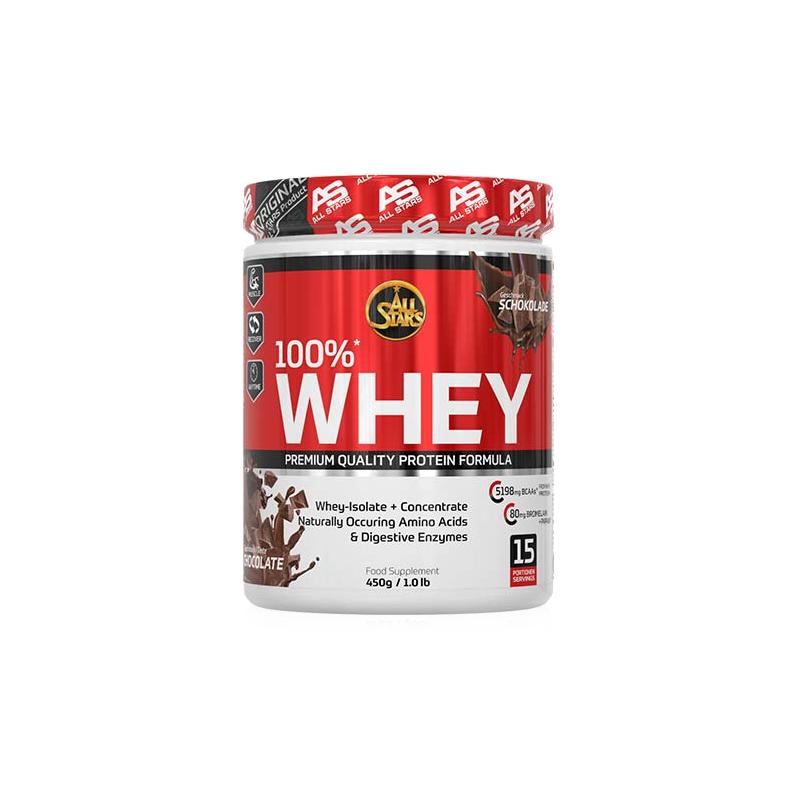 All Stars - 100% Whey Protein, 450g Dose