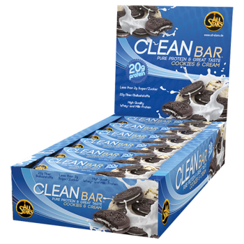All Stars - Clean Bar, 18 Riegel a 60g