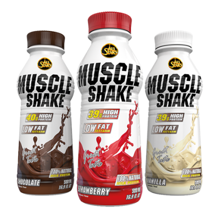 All Stars - Muscle Shake, 6x500ml Flaschen