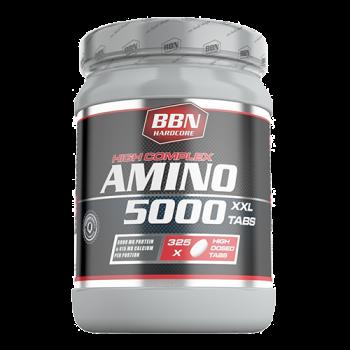 BBN Hardcore - Amino 5000 Tabs, 325 Stk.