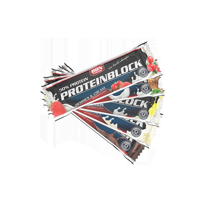 BBN Hardcore - Protein Block, 15 Riegel a 90g