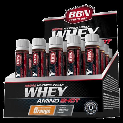 BBN Hardcore - Whey Amino Shot, 20 Ampullen a 25 ml