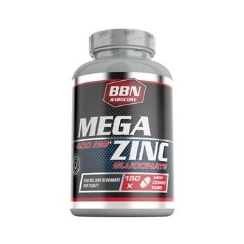 BBN Hardcore - Zinc Tabs, 150 Stk. Dose