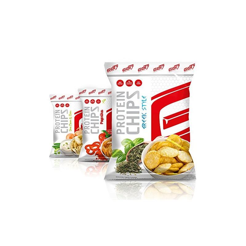 Got7 - High Protein Chips, 6 Beutel a 50g