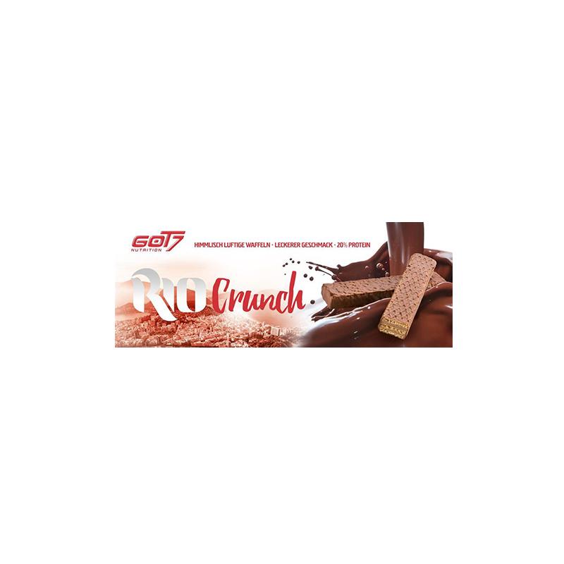 Got7 - Rio Crunch Proteinwaffel, 24 Riegel a 20g