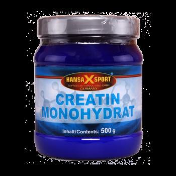 Hansa X Sport - Creatin Monohydrat Pulver, 500g Dose