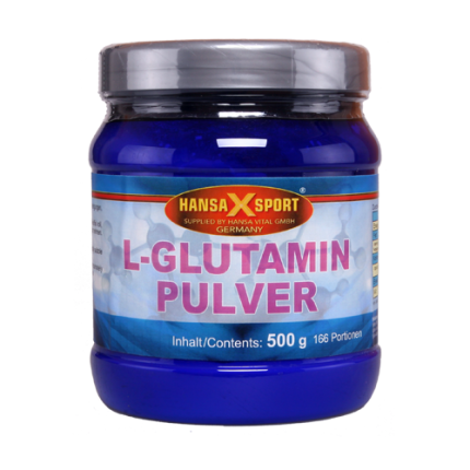 Hansa X Sport - L-Glutamin Pulver, 500g Dose