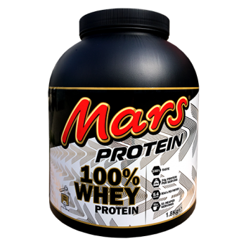 Mars - 100% Whey Protein, 1800g Dose