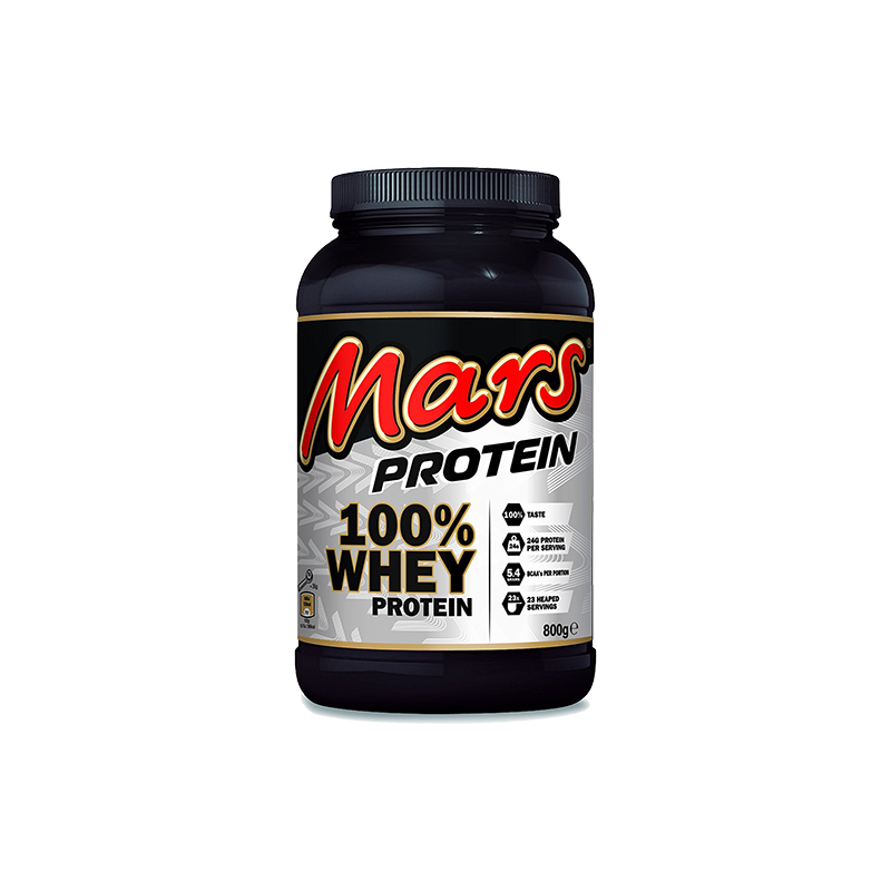 Mars - 100% Whey Protein, 800g Dose