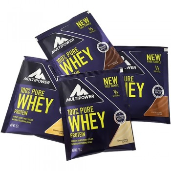 Multipower - 100% Pure Whey Protein, 15g Sachets
