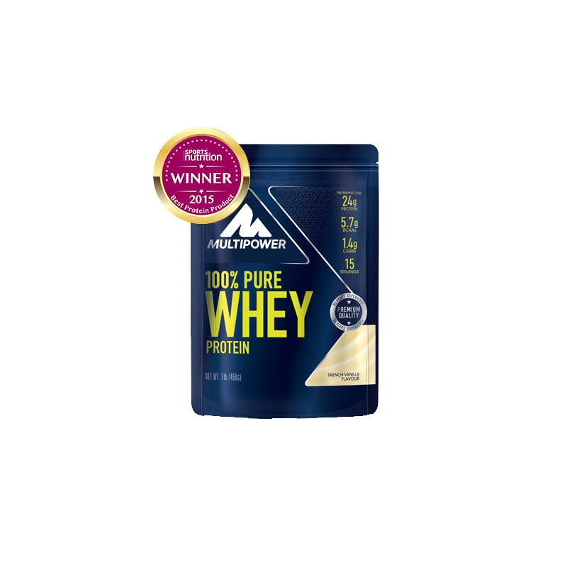 Multipower - 100% Pure Whey Protein, 450g Beutel
