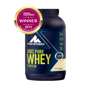 Multipower - 100% Pure Whey Protein, 900g Dose