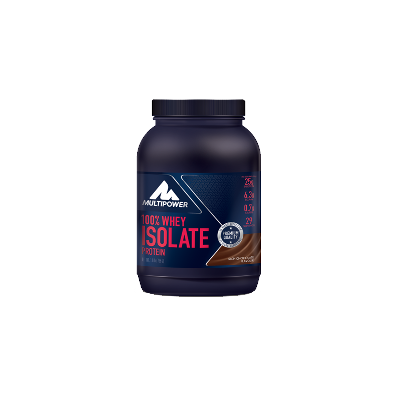 Multipower - 100% Whey Isolate Protein, 725g Dose