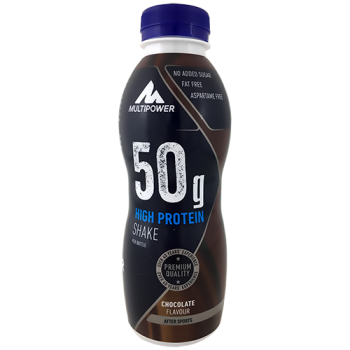 Multipower - 50g Protein Shake, 12x500ml Flaschen