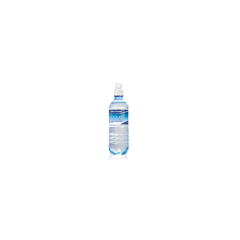 Multipower - Aqua, 18 PET-Flaschen a 0,5L (inkl 4,5EUR Pfand)