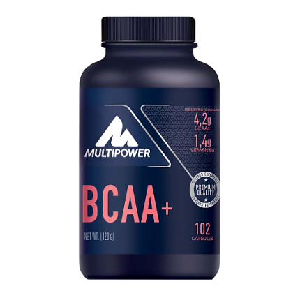 Multipower - BCAA+, 102 Kapseln