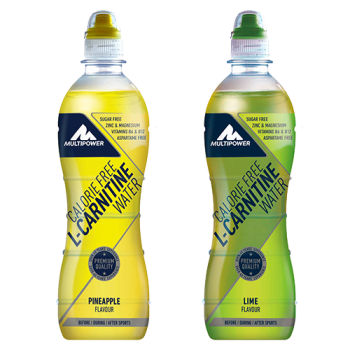 Multipower - Calorie Free L-Carnitine Water, 12x500ml Flaschen (inkl. 3€ Pfand)