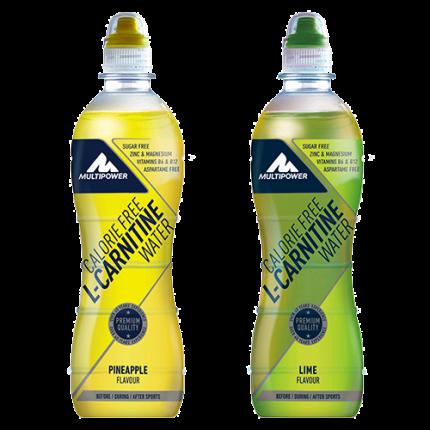 Multipower - Calorie Free L-Carnitine Water, 12x500ml Flaschen (inkl. 3€ Pfand)