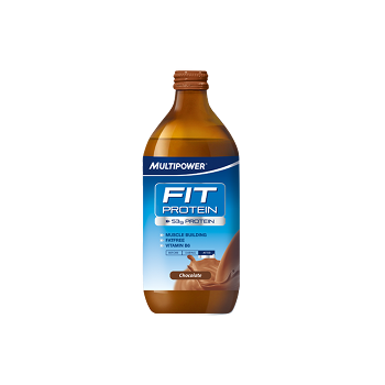 Multipower - Fit Protein, 12x500ml Glasflaschen