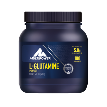 Multipower - L-Glutamine Powder, 500g Dose - geringer Bestand