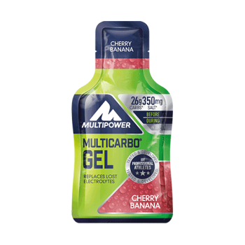 Multipower - Multicarbo Gel, 24 Beutel a 40g