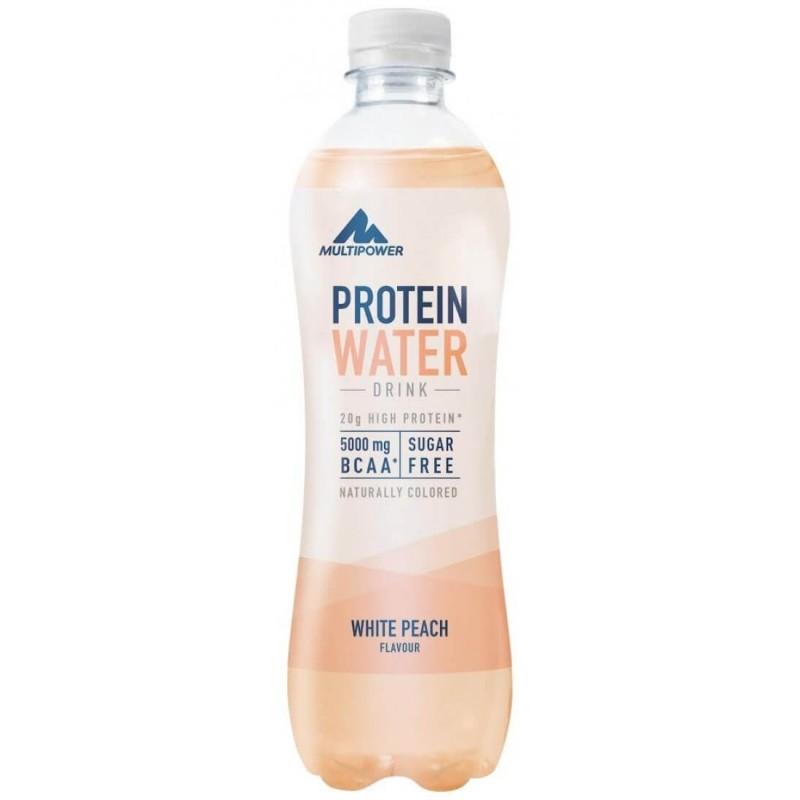 Multipower - Protein Water, 12x500ml Flaschen (inkl. 6 EUR Pfand)