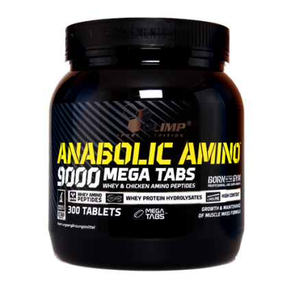 Olimp - Anabolic Amino 9000 Mega Tabs, 300 Stk.