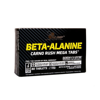 Olimp - Beta-Alanine Carno Rush Mega Tabs, 80 Tabletten