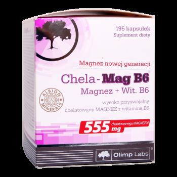 Olimp - Chela Mag B6 Forte Shot, 20x25ml