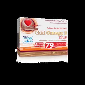 Olimp - Gold Omega 3 Plus, 60 Kapseln – zur Zeit nicht lieferbar