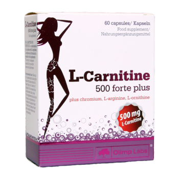 Olimp - L-Carnitine 500 Forte Plus, 60 Kapseln