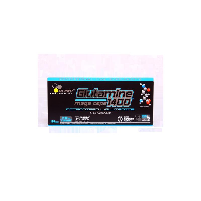 Olimp - L-Glutamin Mega Caps, 120 Stk.