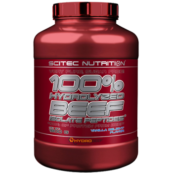 Scitec Nutrition - 100% Hydrolyzed Beef Isolate Peptides*, 1800g Dose