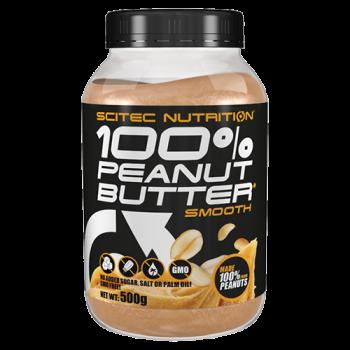 Scitec Nutrition - 100% Peanut Butter*, 500g Dose