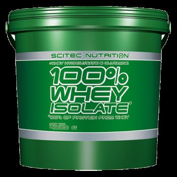 Scitec Nutrition - 100% Whey Isolate, 4000g Eimer