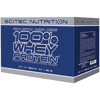 Scitec Nutrition - 100% Whey Protein, 30x30g Portionsbeutel-Variety-Pack