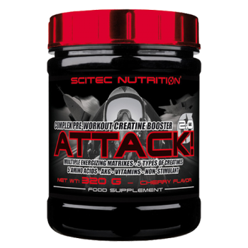Scitec Nutrition - Attack! 2.0, 320g Dose
