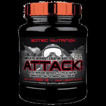 Scitec Nutrition - Attack!, 720g Dose