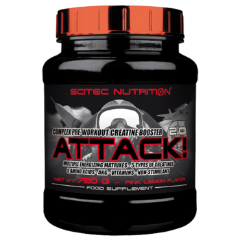 Scitec Nutrition - Attack!, 720g Dose