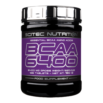 Scitec Nutrition - BCAA 6400, 125 Tabletten